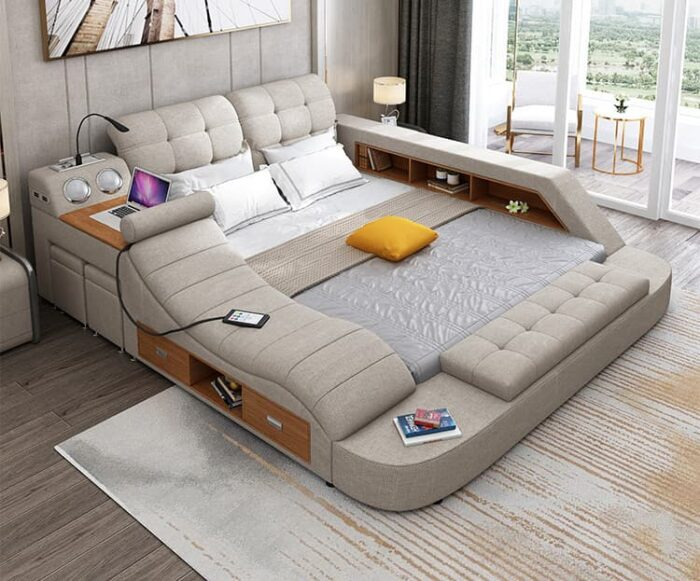 ultimate bed with chair