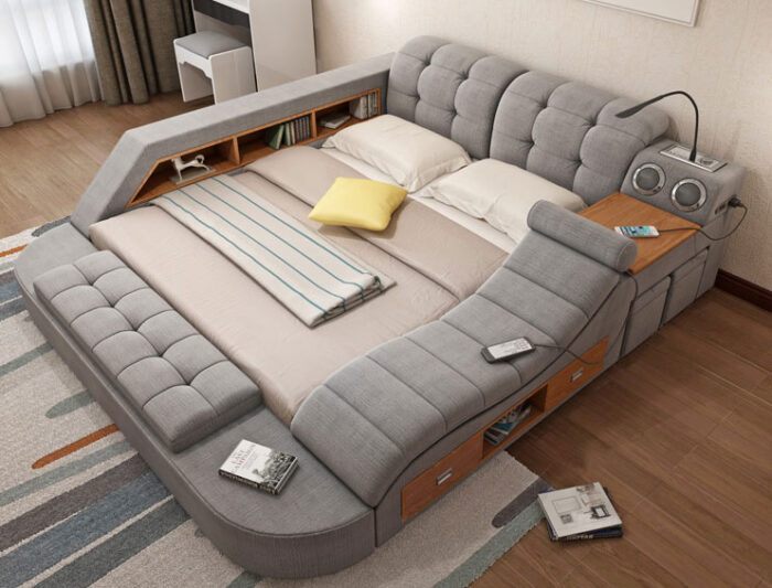 The Ultimate Bed With Integrated, Smart Bed Queen Size