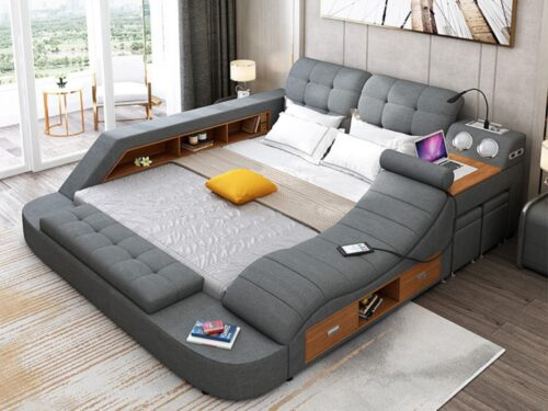 Ultimate Smart Bed Dark Gray