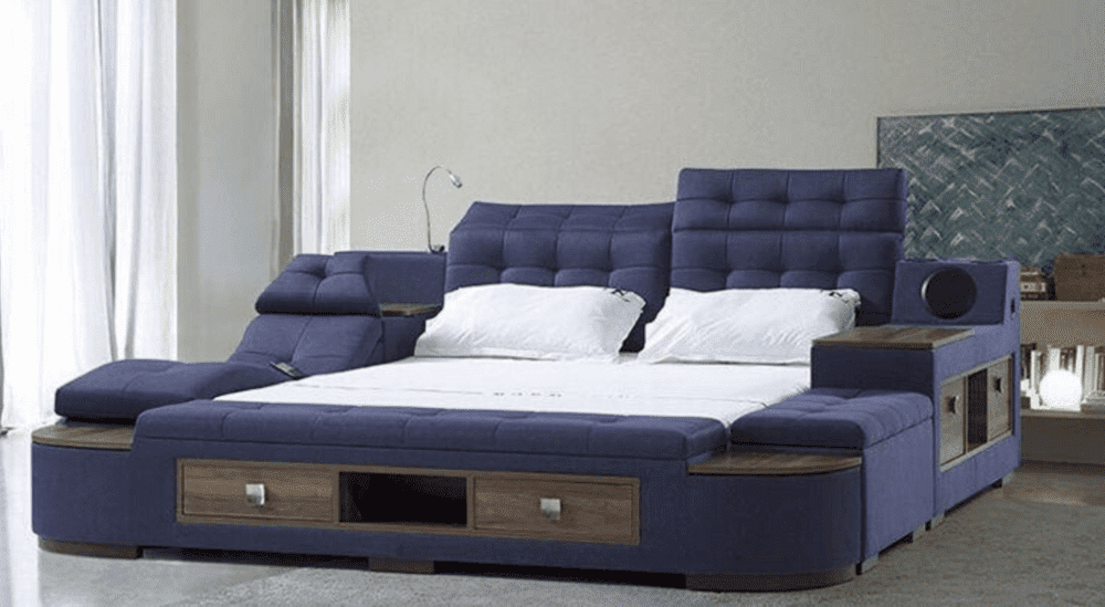 Ultimate Smart X400 Bed Blue 1